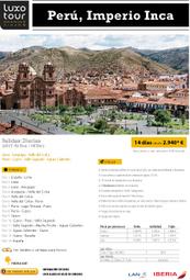 Peru Imperio Inca 2017