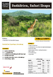 Sudafrica Safari Itaka